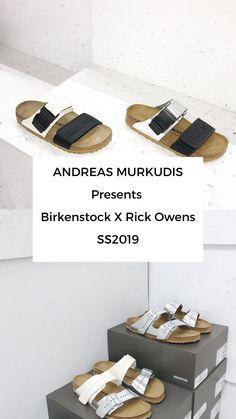 Rick Owens Rick Owens x Birkenstock 'Babel' Pantoletten - Farfetch Nicole Richie, Rick Owens, Rihanna, Birkenstock, Menswear, Digital, Accessories, Men Wear, Men Clothes