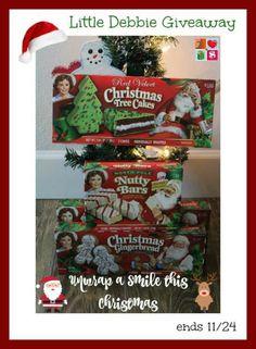 #Win a CASE of Little Debbie Snacks - ends 11/24 US Only