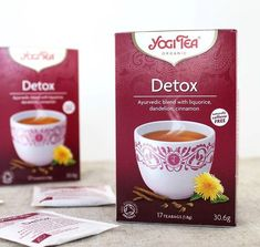 """Yogi Tea Detox es una mezcla equilibrada de regaliz dulce y jengibre picante con diente de león y raíz de bardana. La suma del cardamomo, el cilantro, la salvia y el hinojo completan esta afamada y sabrosa infusión. Su esencia es: """"dulce renovación"""". ➿ Encuéntrala en👉🏼www.dellaterra.es  #infusion  #yoga"""