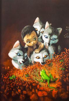 A Manó könyvek komolyan vette a feladatot és a jól ismert klasszikust különleges képi világgal bocsátották útjára. #Manokonyvek #Adzsungelkonyve #QuentinGreban #klasszikus #mese #konyv #gyerek #ifjusagi
