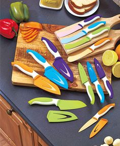 Colorful Nonstick Cutlery Sets
