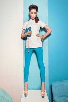 Kolekcja 2013 - Vena Uniformy Model, Fashion, Moda, Fashion Styles, Scale Model, Fashion Illustrations, Models, Template
