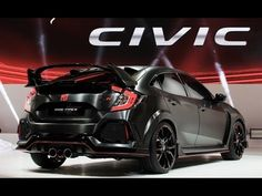 2017 Honda Civic Hatchback and Type R Presentation at Paris Motor Show 2016