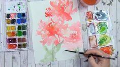 Painting peonies! #wildandcrazysaturdaynight #videosfromalisa