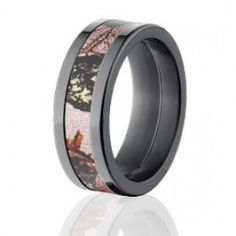 Mossy Oak Camo Rings Camouflage Wedding Bands Pink BreakUp