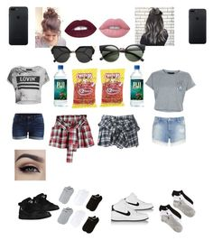 """""""Untitled #3"""" by lizzy-sossa on Polyvore featuring adidas, Polo Ralph Lauren, Faith Connexion, Religion Clothing, VILA, Miss Selfridge, New Look, NIKE, Lime Crime and Fendi"""