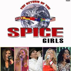 """""""THE RETURN OF THE SPICE GIRLS WORLD TOUR December 2007 / March 2008  #spicegirls #SPICE #geri #melb #emma #victoria #melaniec #gerihalliwell #halliwell…"""""""