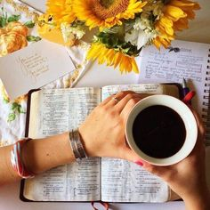 coffee and Jesus. {I have one desire now - to live a life of reckless abandon for The Lord, putting all my energy and strength into it. Give Me Jesus, My Jesus, Adonai Elohim, Bibel Journal, Gods Love, My Love, Mellow Yellow, God Is Good, Bible Verses