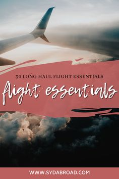 A complete list of the best long haul flight essentials for you to survive your next trip! | long flight essentials | long haul flight tips | jet lag tips | helpful long haul flight essentials | Long flight outfit Travel Essentials For Women, Packing Tips For Travel, Travel Guides, Long Flight Outfit, Long Haul Flight Tips, Continents And Countries, Flights To London, Jet Lag, Worldwide Travel