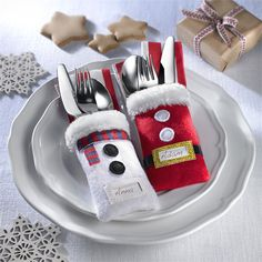 Świąteczne etui na sztućce - Produkty AVON