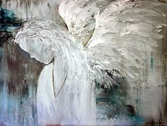 EN1028 Angel Painting by ReneaL