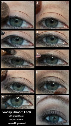 Pin now, play later! Best Makeup Tutorials, Makeup Tips, Eye Makeup, Hair Makeup, Best Beauty Tips, Beauty Make Up, Beauty Hacks, Brown Eyeshadow Looks, Makeup Designs