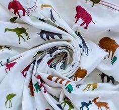 Organic swaddle blanket double gauze swaddle blanket by BeingBaby