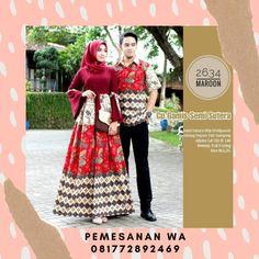 Model Baju Gamis Batik Couple Sarimbit Semisutra Lengan terompet kombinasi Tali Untuk Baju Lebaran Terbaru Batik Couple, Formal Dresses, Couples, Fashion, Dresses For Formal, Moda, Formal Gowns, Fashion Styles, Formal Dress