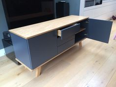 Sideboard Customer Gallery - Join Furniture Low Sideboard, Sideboard Furniture, Glass Furniture, Furniture Design, Modern Buffet, Furniture Companies, Side Tables, Contemporary Furniture, New Homes