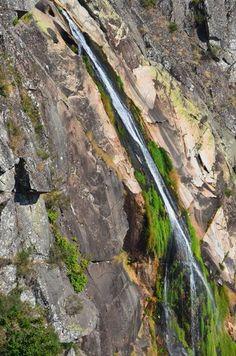 Mizarela waterfall in Freita mountain