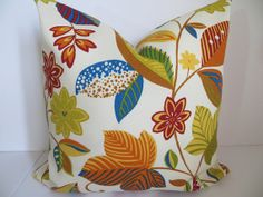 Outdoor Pillow 16x1618x18 Pillow  Indoor by ClavelFashion on Etsy, $18.00