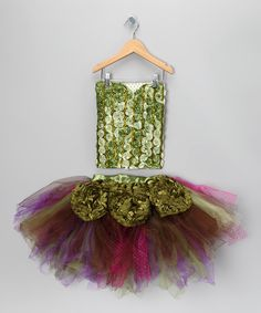 Enchanted Fairy Party ware, Skirt, tulle, apron, corset and crown and wand on Etsy, $200.00