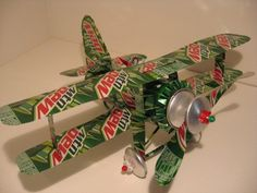 cool hand-crafted plane