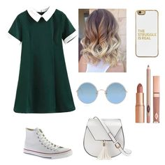 """""""Untitled #3"""" by maggie-mcswain on Polyvore featuring Converse, BaubleBar, Sunday Somewhere, Yoki and Dolce Vita"""
