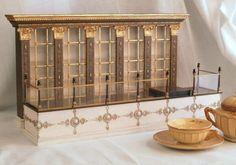 Cafe Pouchkine,  Paris miniature replica