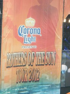 Brothers of the Sun Tour 2012