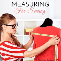 Learn how to take the sewing measurements for your body listed in most sewing patterns so you can choose the pattern size that will give you the best fit.