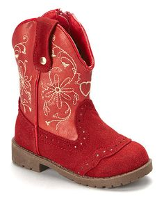 This Red Doca Boot is perfect! #zulilyfinds