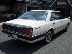 セドリック4DHT2000ターボブロアム(E-430) S58年式 Datsun Car, Showa Period, Nissan Infiniti, Japanese American, Rally Car, Jdm Cars, Random Stuff, Wheels, Garage