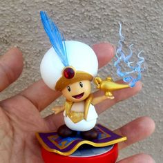 Post with 0 votes and 1942 views. Amazing Custom Aladdin Toad Amiibo made by Lucas Movie, Custom Consoles, Super Mario Art, Nintendo News, Gamers Anime, Disney Infinity, Donkey Kong, Ariel The Little Mermaid, Geek Out