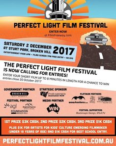 Wow Structures are absolutely thrilled to be a Platinum Sponsor of the inaugural @perfectlightfilmfestival taking place in the Broken Hill City Council. The VIP area and judges will be located underneath our spectacular structures.  If you're a filmmaker submit your films for entry now. If you're a film lover plan that road trip it's going to be huge!