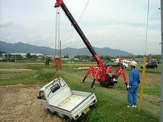 UNIC mini-crawler crane