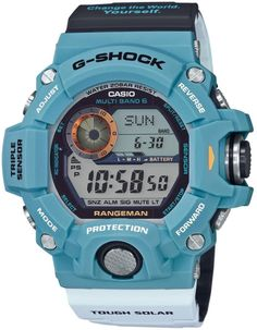 Buy and sell luxury watches on StockX including the Casio G-Shock Rangeman Limited Edition in Resin and thousands of other luxury watches from top brands. G Shock Watches, Casio G Shock, Sport Watches, Nice Watches, Modern Watches, Elegant Watches, Wrist Watches, Cartier, Casio Vintage