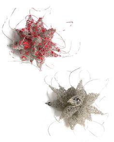 """Brooch   Mari Ishikawa, """"Nest I"""" und """"Nest II"""""""
