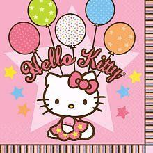 Hello Kitty Balloon Dreams Lunch Napkins 16 Pack . $2.66. Hello Kitty Balloon Dreams Lunch Napkins 16 Pack