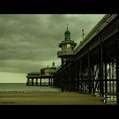 North pier at Blackpool England Blackpool England, Holidays In England, Missing Home, Continental Europe, Irish Sea, North Sea, Small Island, Great Britain, Big Ben
