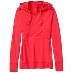 Pony Up Hoodie - Stretchy peached polyester in a hoodie that feels amazing against your skin from warm-up to cool-down.