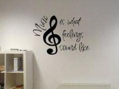 Music Wall Tattoo