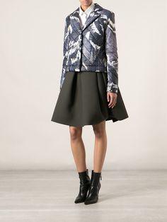 Kenzo Pleated Skirt - Cumini - Farfetch.com