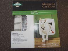 Pet Safe Magnetic Cat Door, New, Magnet Collar key #PetSafe