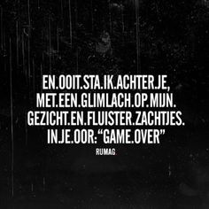 Game over #rumag