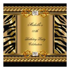 ... red gold jewel birthday party invites birthday and party invitations