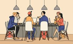 Janne Iivonen + Colagene, clinique d'illustration Boy Illustration, Character Illustration, Graphic Design Illustration, Ligne Claire, Comic Styles, Graphic Design Typography, The Guardian, Cute Art, Nostalgia