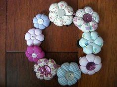Les fleurs japonaises à coudre