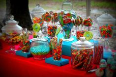 """Photo 13 of 31: Candy Themed & everything sweet / Birthday """"A """"Two"""" Sweet Celebration""""   Catch My Party"""