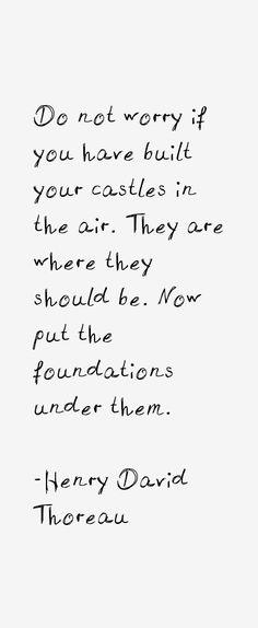 Henry David Thoreau Quotes                                                                                                                                                                                 More
