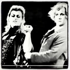 Minäkin tahtoisin Tanssia hänen kanssaan.. Pervert - I mean #HerbertvonKrolock  and #Alfred #wieniläisvalssaavat #vampyyrientanssi #danceofvampires #hkt #hktfi
