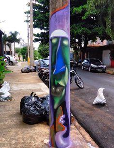 by Lelin (LP) Street Art Love, Dope Art, Urban Art, Mind Blown, Art Art, Lp, Graffiti, Canvas, Creative