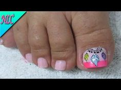 DECORACIÓN DE UÑAS ATRAPASUEÑOS EN LOS PIES - COMO HACER ATRAPASUEÑOS -DREAMCATCHER NAIL ART - NLC - YouTube Pedicure Nail Designs, Manicure E Pedicure, Homemade Butter, Toe Nails, Amazing Gardens, Dream Catcher, Polish, Photoshop, Beauty