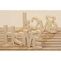 Sada 2 dekorativních nápisů Boltze Home, Love - Bonami.cz